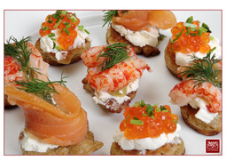 Tommi Hirsch Catering Blinis