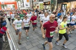 Läufer beim Wiener Fairness Run