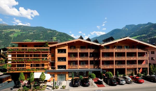 Tourismus und gastronomie das sterreichische umweltzeichen for Hotel design tirol