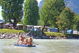 Camping Grubhof Kinder am Fluss