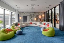 Inspired Meeting Room / CREATE Inspired by water