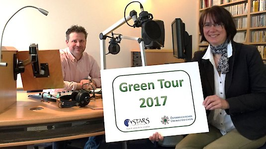Green Tour goes On Air